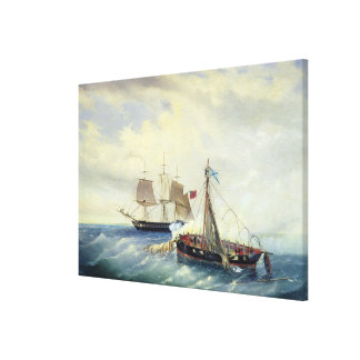 Off the coast of Nargen Island Canvas Print