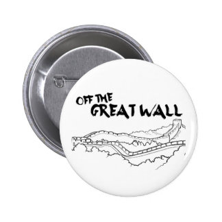Off The Great Wall 6 Cm Round Badge