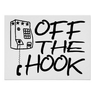 Off The Hook Pay Phone Print