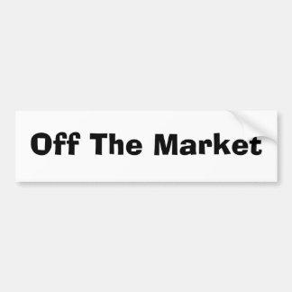 Off The Market Bumper Stickers
