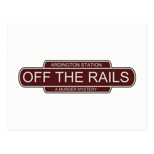 Off The Rails postcard