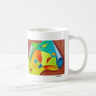 Off The Wall, Coffee Cup Basic White Mug