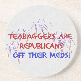 OFF THEIR MEDS COASTERS
