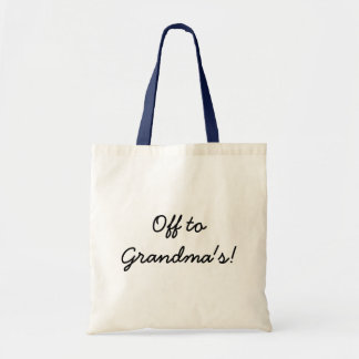 Off  to Grandma's bag