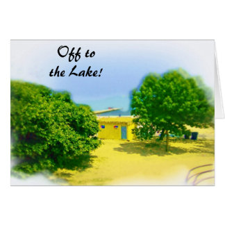Off to the Lakeshore! Greeting Card