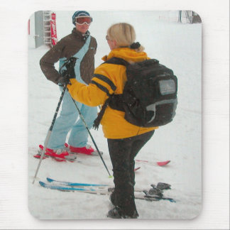 Off to the mountains mouse pad