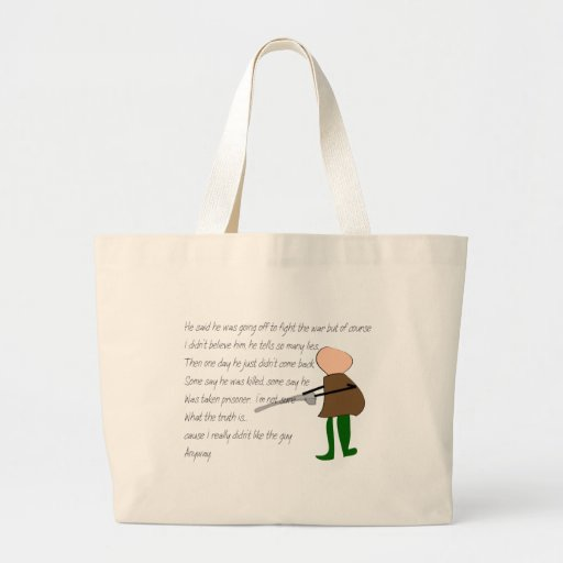 """Off to War""--Story Art Gifts Bag"