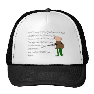 """Off to War""--Story Art Gifts Hat"
