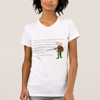 """Off to War""--Story Art Gifts Tshirt"