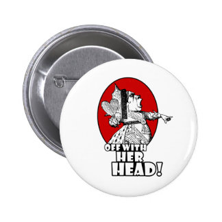 Off With Her Head Logo 6 Cm Round Badge