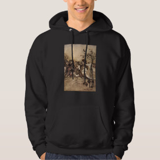 Off with his head! hooded pullover