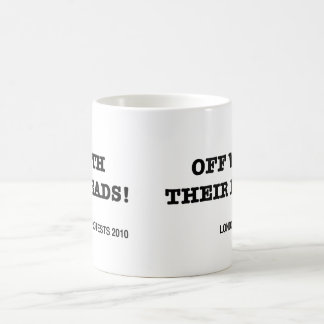 Off With Their Heads Coffee Mugs
