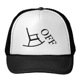 Off Your Rocker Mesh Hats