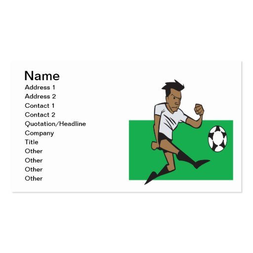 Offense Business Cards