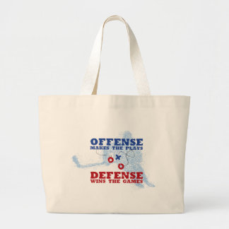 Offense Defense Tote Bags