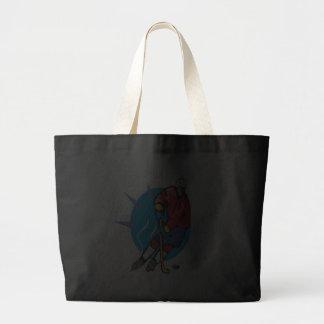 Offense Jumbo Tote Bag