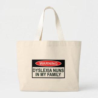 Offensive Dyslexia Jumbo Tote Bag