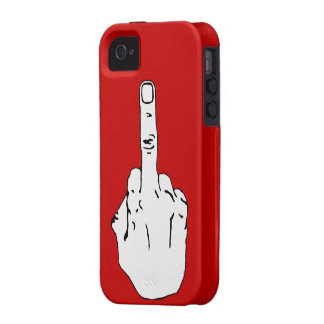Offensive finger iPhone 4/4S cover