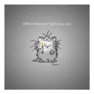 OFFER WHATEVER LIGHT YOU CAN by Sandra Boynton