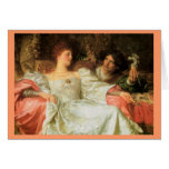 Offering a Romantic Gift Greeting Cards