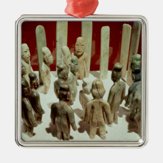 Offering of sixteen male figures, from La Christmas Ornament