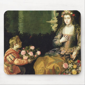 Offering to Flora, 1627 (oil on canvas) Mouse Mat