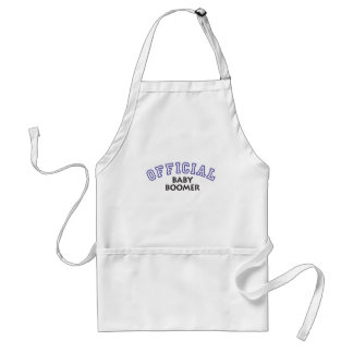 Offical Baby Boomer - Blue Aprons
