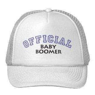 Offical Baby Boomer - Blue Trucker Hat