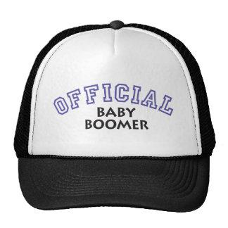Offical Baby Boomer - Blue Trucker Hats