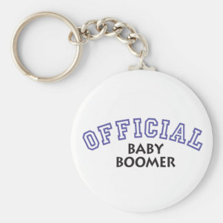 Offical Baby Boomer - Blue Key Chains
