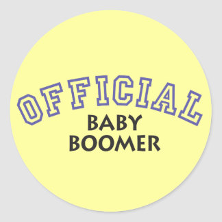 Offical Baby Boomer - Blue Sticker