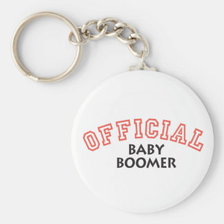 Offical Baby Boomer - Red Key Chains