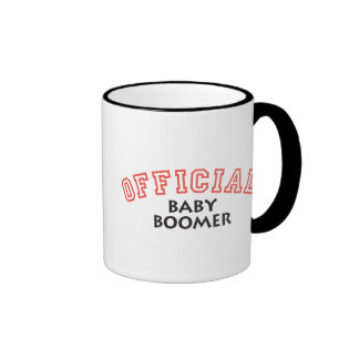 Offical Baby Boomer - Red Coffee Mugs