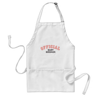 Offical Baby Boomer - Red Standard Apron