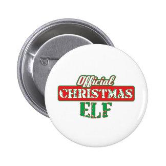 Offical Christmas Elf - Santa's Helper 6 Cm Round Badge