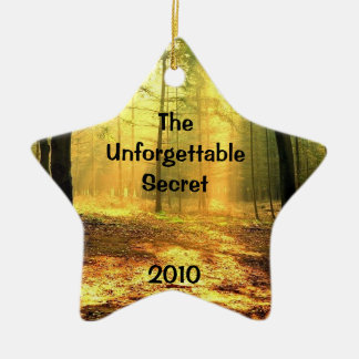 Offical Unforgettable Secret ornament