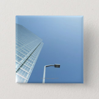 Office Building 15 Cm Square Badge