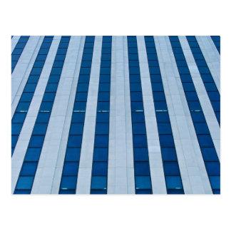 Office building architecture postcard
