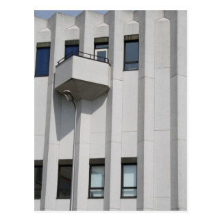 Office building postcard