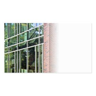 Office Building Windows Business Card Template
