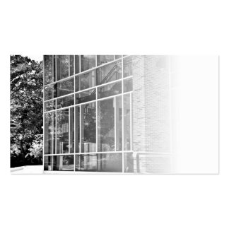 Office Building Windows Business Card
