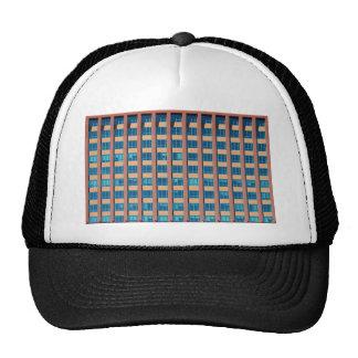 Office Building Windows Mesh Hat