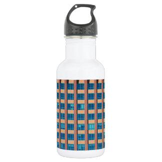 Office Building Windows 532 Ml Water Bottle