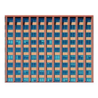 Office Building Windows Postcard