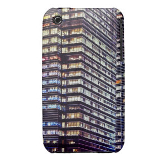 Office buildings at night, Singapore Case-Mate iPhone 3 Case