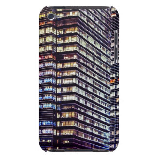 Office buildings at night, Singapore iPod Touch Cover