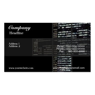 Office Buildings Business Card