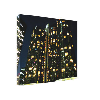 Office Buildings Gallery Wrapped Canvas