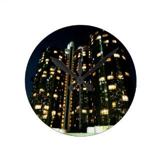 Office Buildings Wall Clocks