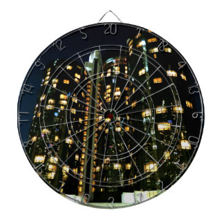 Office Buildings Dartboard With Darts